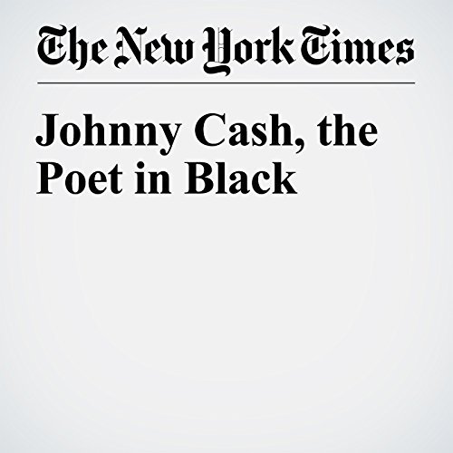 Johnny Cash, the Poet in Black audiobook cover art