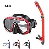 Best Snorkel Masks - Kuyou Snorkel Set Adults,Dry Snorkeling Set Men Women Review