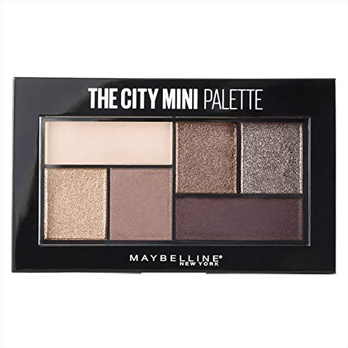 Maybelline New York The City Mini Lidschatten-Palette 410 Chill Brunch Neutrals Violett