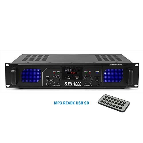 SkyTec SPL1000 Professional Audio MP3 USB/SD DJ Disco PA...
