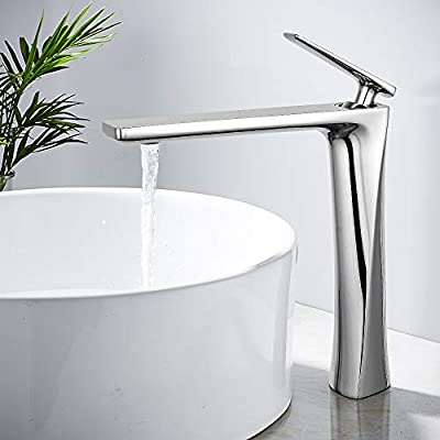 JOMOLA Tall Bathroom Vessel Sink Faucet