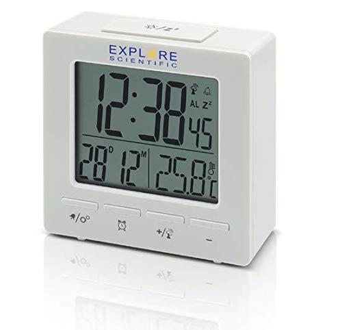 Compact Radio Controlled Alarm Clock