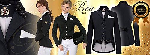 Interapi Fairplay 'BEA' Softshell Turnier Kurzfrack schwarz, Taille:42