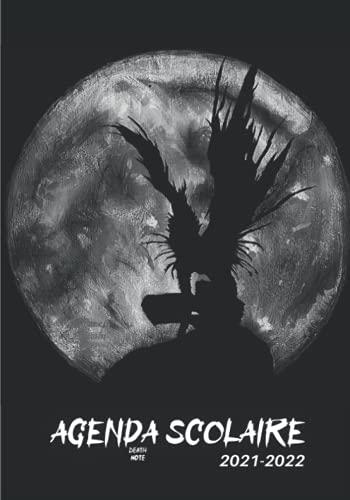 Agenda Scolaire 2021 2022 Death Note: Kira Ryuk pour Garçon et fille   Agenda Scolaire Journalier et semainier 2021-2022, Primaire, college, Lycée, ... scolaires   Agenda anime manga bande dessinée