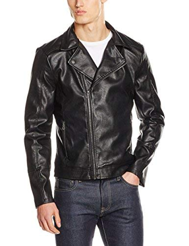 Kings on Earth Chaqueta Hombre, Negro (schwarz), X-Large (Ropa)