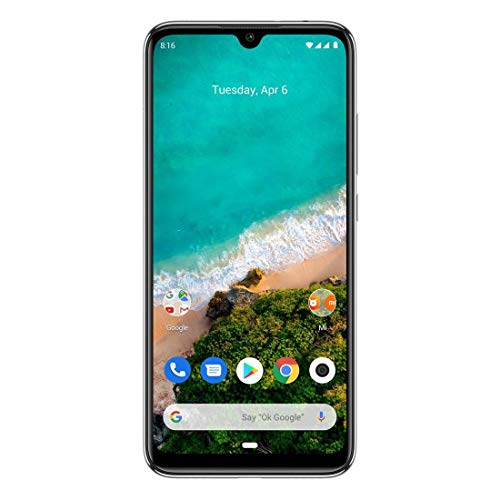 Celular Mi A3 128gb 4gb branco Global