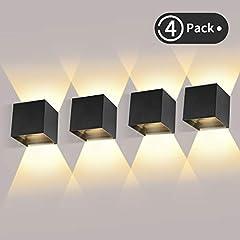 ledmo 4 Pack 12W LED