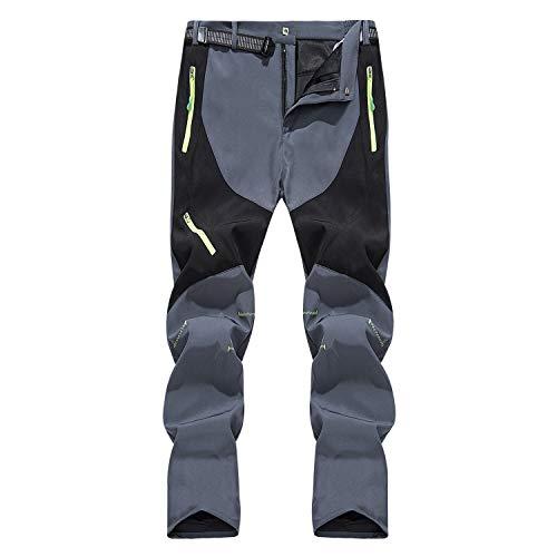 LHHMZ Pantaloni da Escursionismo da Uomo Traspirante Confortevole Pantaloni da Passeggio Pantaloni Casual Primavera Autunno Estate