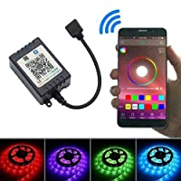 AliNature RGB RGBW 5050 LEDライトストリップALEXA C1E2のためのミニコントローラDC5-28V
