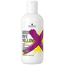 Schwarzkopf Professional Goodbye Yellow Neutralising Shampoo, 300 ml