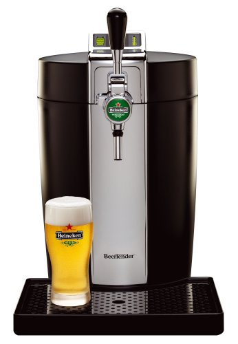 BeerTender from Heineken and Krups B90 Home Beer-Tap System