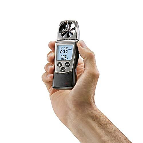 ZHLZH Anemómetro/Medidor de Velocidad Viento Aire/Aire Medidor, Anemómetro Multifuncional de Temperatura y Humedad Anemómetro de Impulsor