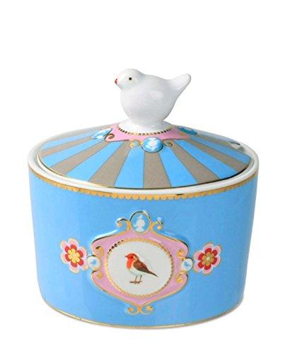 Pip Studio Zuckerschale Love Birds Medallion | Multicolour - 300 ml