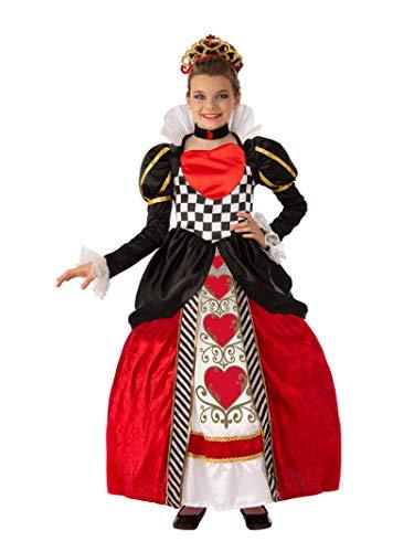 Girls Queen of Hearts Super Deluxe Costume