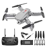 Foldable Drone with 4K HD Dual Cameras, Wrap-Around Brushless Foldable, Suitable for Beginners