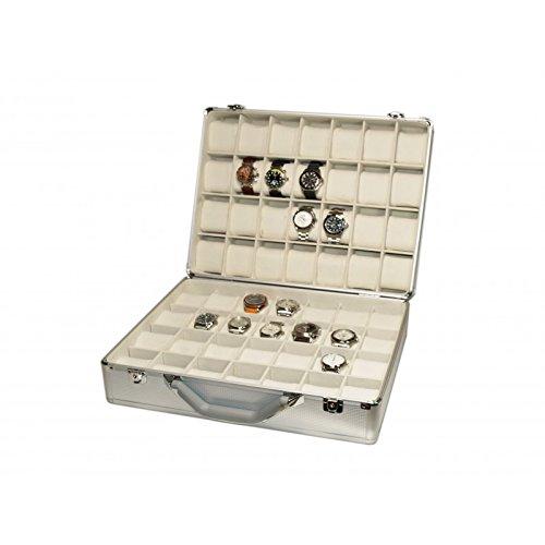 Vitrina Guarda 56 Relojes en Aluminio Modelo WCALU56