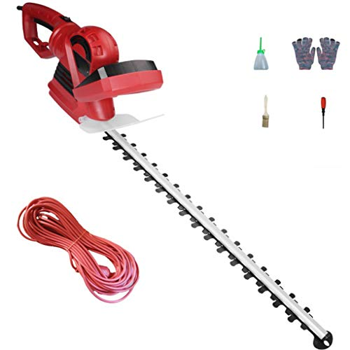 Best Deals! Hedge Trimmers Electric Hedge Trimmers 850W 1500-RPM Cordless Grass Shear/Shrubber Handh...
