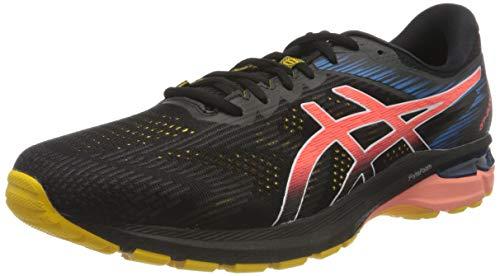 ASICS GT-2000 8 Trail, Baskets Homme, Black/Sunrise Red, 42.5 EU
