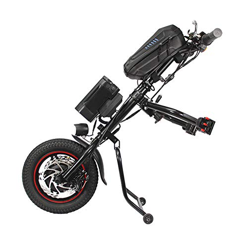2020 Neueste 36V 350W 12Inch Elektro-Rollstuhl Traktor-Anbau-Handcycle DIY Handbike Conversion Kits Und 36V 8AH Vientiane Typ Lithium-Ionen-Akku Mit Ladegerät 2A