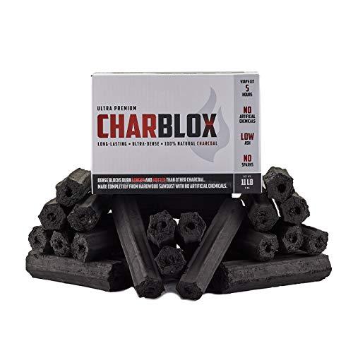 CHARBLOX Ultra Premium Grilling Charcoal Logs