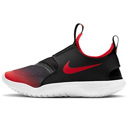Nike Zapatillas de correr para niños preescolares Flex Runner, Universidad Rojo/University Rojo-negro, 21.5 MX Niño pequeño