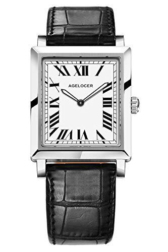 Agelocer Reloj elegante simple de cuarzo de la marca superior de la moda de las mujeres, Nk_3402a1,