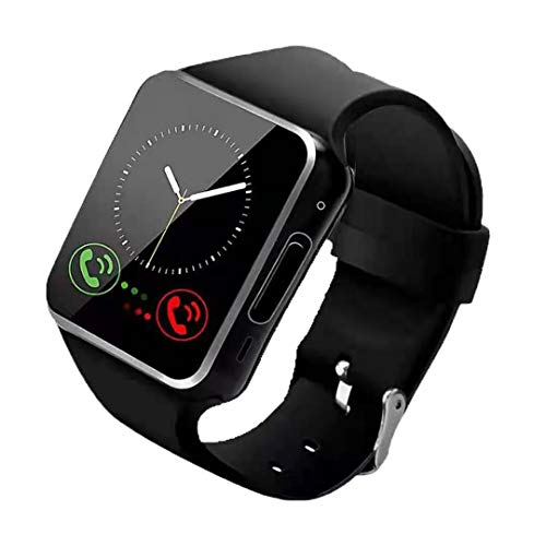 YOLILY Smart Watch,Bluetooth Smart Watch for Andriod Phones, Smartwatch with Camera,Waterpfoof Smart Watches,Watch Phone Touchscreen for Android Samsung iOS Plus Men Women Youth