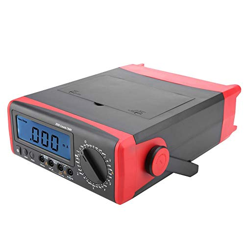 Termómetro Digital multímetro Protección de sobrecarga AC/DC para Laboratorio con Pantalla Grande con(Australian regulations 240v)
