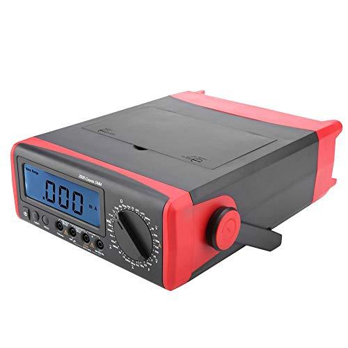 Termómetro Digital multímetro Protección de sobrecarga AC/DC para Laboratorio con Pantalla Grande...