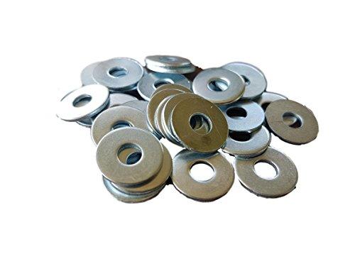 Pak van 20 stuks) Wasmachines 37mm Stalen Reparatie spatbord DIN 9021 mm Platte Rove Spacer Washer
