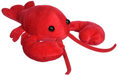 Mary Meyer Stuffed Animal Soft Toy, Lobbie Lobster, 10-Inches