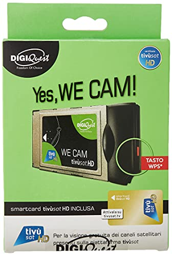 We CAM Tivùsat HD - scheda Tivùsat inclusa