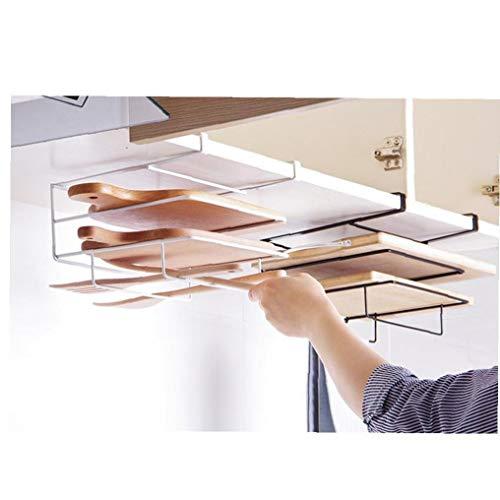 PiniceCore Storage Drainboard Lid Shelf Door Hanging Holder Metal Plate Stand Pan Dishes Cutting Board Kitchen Draining Rack Organizer