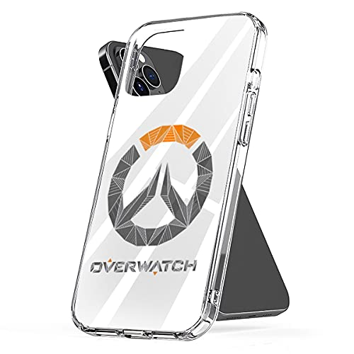 Phone Case Cover Overwatch Pc Waterproof Clear TPU Funny Compatible for iPhone 6 6s 7 8 X Xs Xr 11 12 Se 2020 Pro Max Plus