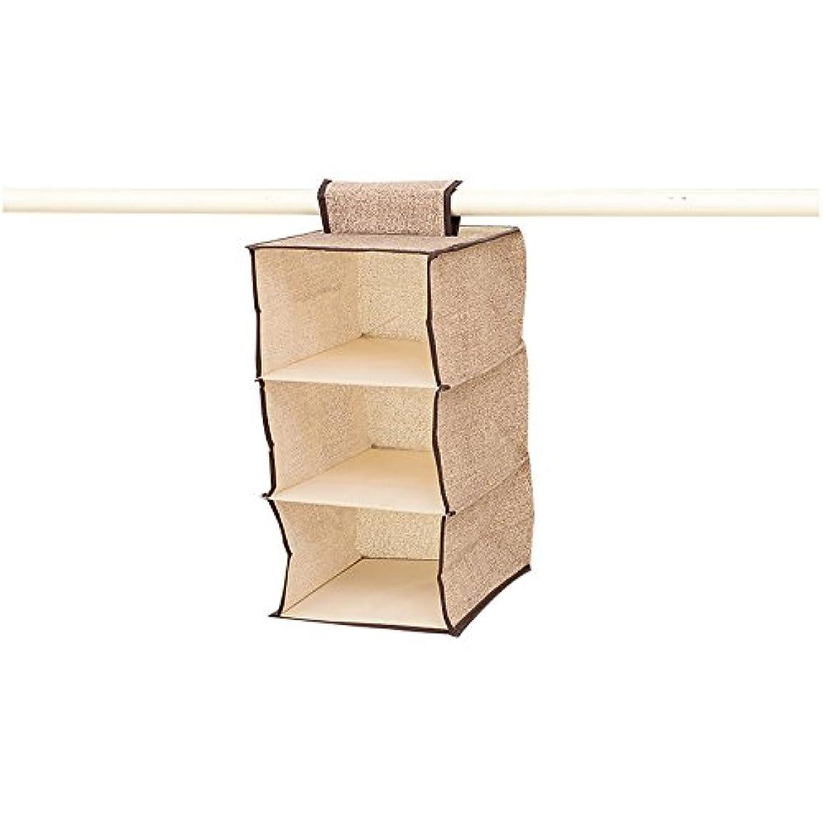 型航空便兄DimiDay 伸びる吊り下げ収納ラック (三層)