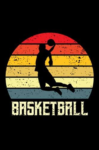 Basketball: Basketball notizbuch, Basketballer Geschenke, Basketballbuecher, Zubehoer, Sport, Geschenkideen für Kinder und Sportler,