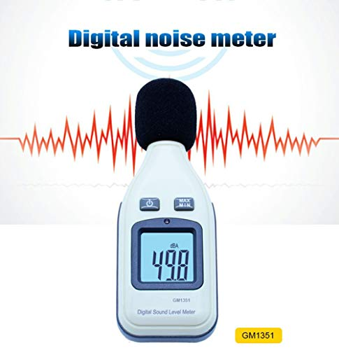GKD Digital Sound Level Meter 30-130Db Mini Lärm Meter Decibel Logger Tester Lärm in Dezibel LCD-Analysator-Prüfvorrichtung