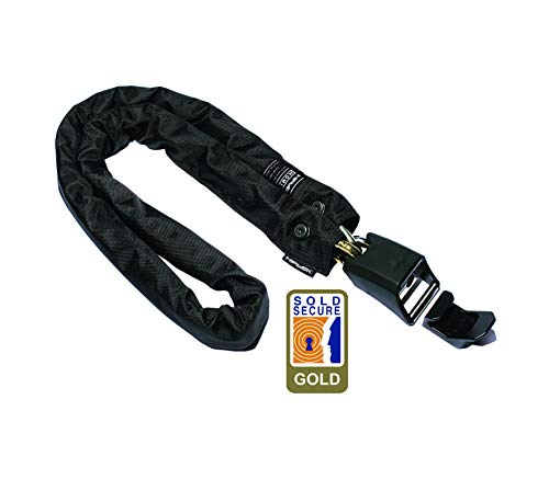 Hiplok HOMIE Chain Lock Black