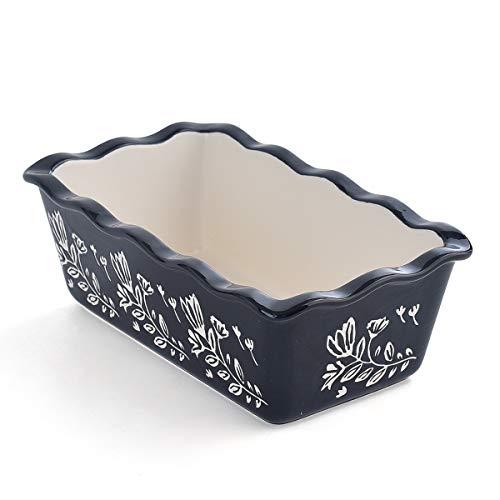 Wisenvoy Loaf Pan Bread Pan Ceramic loaf pans for baking Porcelain Baking Pans Nonstick Bread Pans for Baking