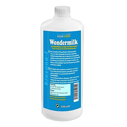 Aqualight WonderMilk 1000ml Schadstoffkiller f. Süß-/ Meerwasser