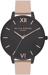 Olivia Burton Womens Quartz Watch, Analog Display and Leather Strap OB16AD25