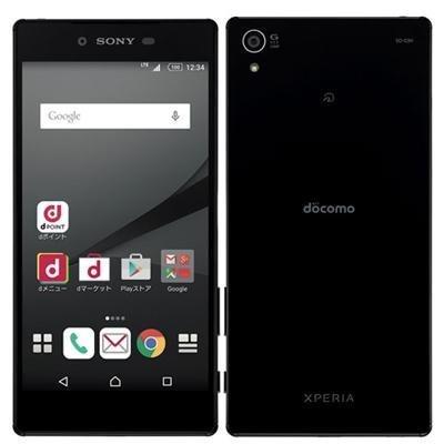 SONY(ソニー) Xperia Z5 Premium 32GB ブラック SO-03H docomoロック解除SIMフリー
