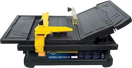 QEP 22400Q 3/5 HP Torque Master Tile Saw, 4-Inch,Black/Yellow