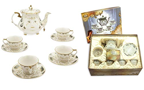 Beauty and the Beast Live Action Fine China Tea Set Limited Edition