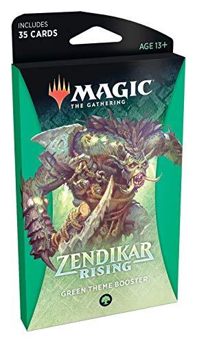 Magic: The Gathering Zendikar Rising Theme Booster - Verde