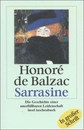 Sarrasine: Die Geschichte einer unerfüllbaren Leidenschaft (insel taschenbuch)