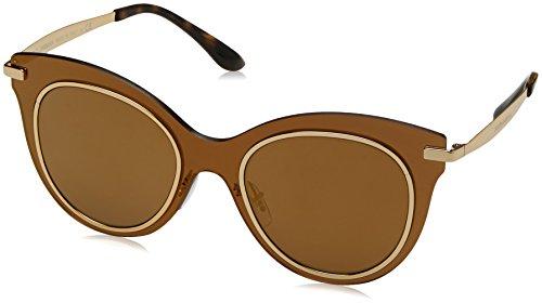 Dolce & Gabbana Damen 0DG2172 02/F9 51 Sonnenbrille, Braun (Brown Mirror Bronze/Brownmirrorbronze)