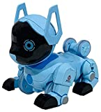 varna puppy stunt roll 360 lovely dancing imitates animals programme smart band controller, remote control robot dog toy for kids 2, 3, 4, 5, 6, 7, 8, 9, 10 year olds and up- Multi color