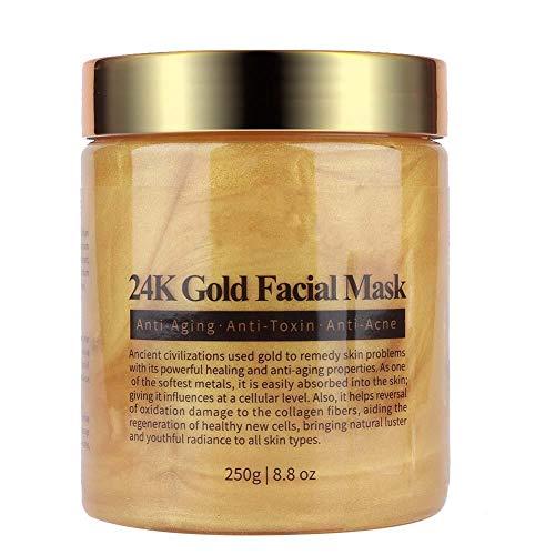 MELAO Gold Collagen-Gesichtsmaske, Entfernung des Peeling-Mitesser - Feuchtigkeitsspendende Anti-Aging-Feuchtigkeitscreme