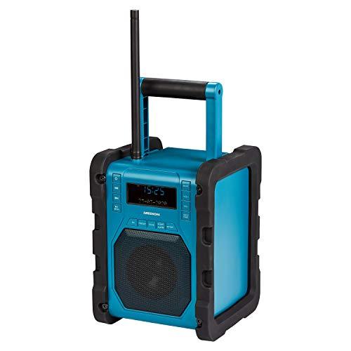 günstig Bauradio mit MEDION P66098 DAB + Bluetooth, USB, AUX, Kopfhöreranschluss, PLL FM,… Vergleich im Deutschland